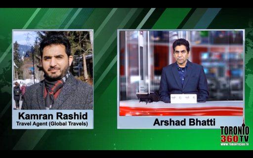 CEO Kamran Rashid's special talk about Canada to Pakistan PIA flights schedule