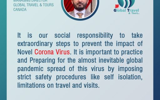 CEO Kamran Rashid's special messages about COVID-19